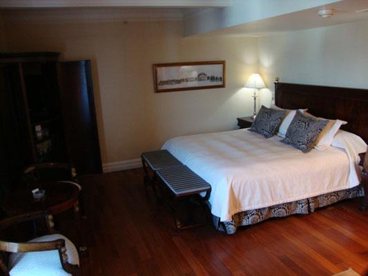 Quartos e acomodações do hotel