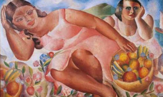Obra de Di Cavalcanti no Malba