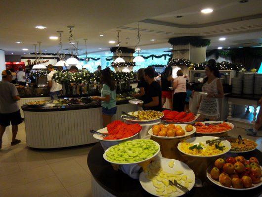Refeições no Fazzenda Park Hotel
