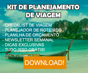Kit de Planejamento de Viagem
