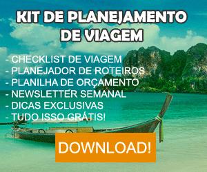 Kit de Planejamento de Viagem